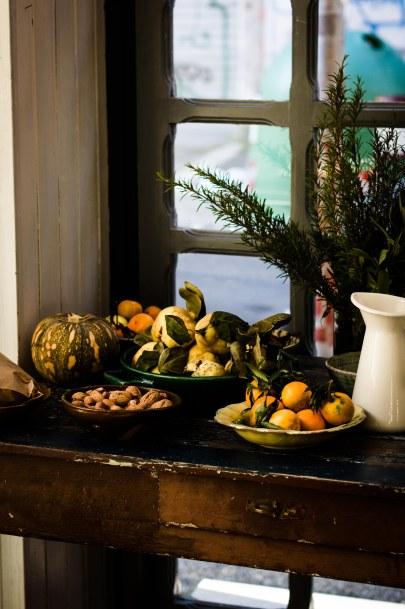 Autumn tablescape at Latteria Studio