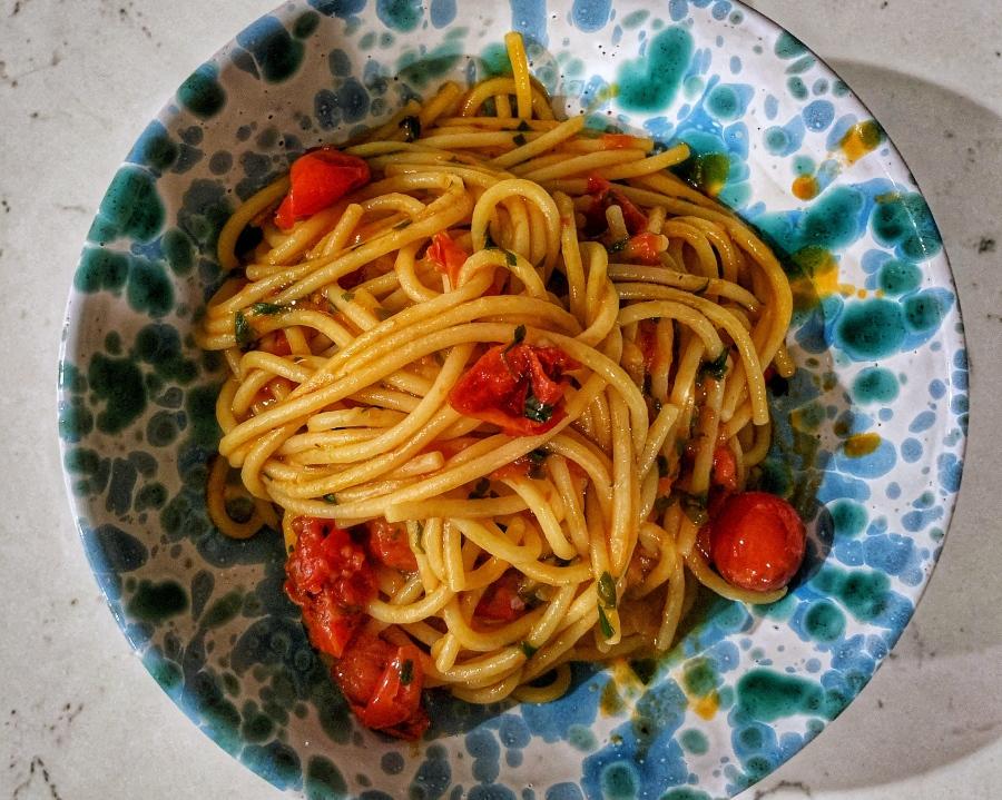 Notebook pasta
